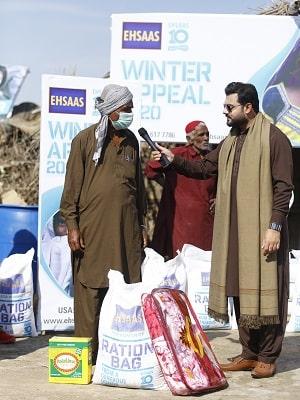Ehsaas Winter Pack Distribution